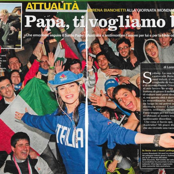 tv-sorrisi-canzoni-giornata-mondiale-della-gioventu-lorena-bianchetti